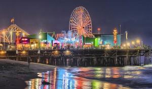 Santa-Monica-Pier-night