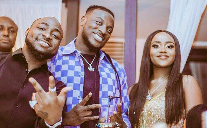 I was surprised when Chioma told me she was dating Davido