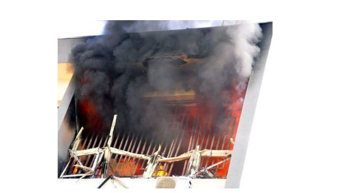 Fire guts World Health Organisation storage facility in Osogbo