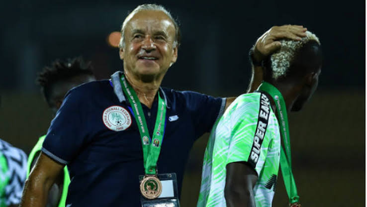 Amaju Pinnick lists conditions to be met before NFF gives Gernot Rohr new Super Eagles contract