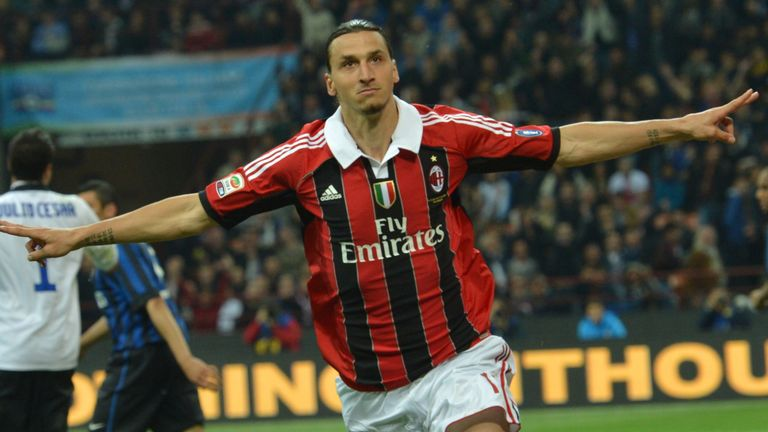 Zlatan Ibrahimovic rejoins AC Milan until end of season