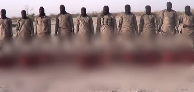 IS claims execution of 11 Christians on Christmas Day