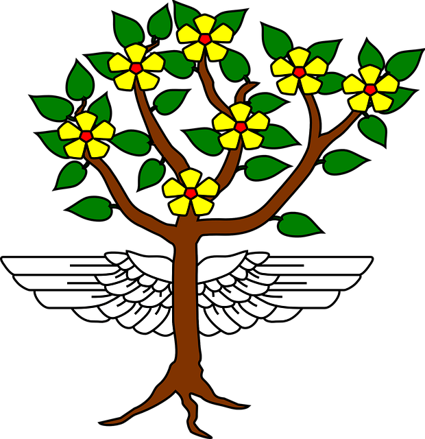 Winged tree