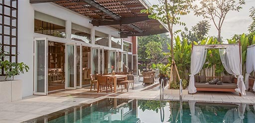 Maison Aurelia pool