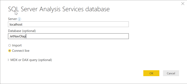 Power Bi Server And Database