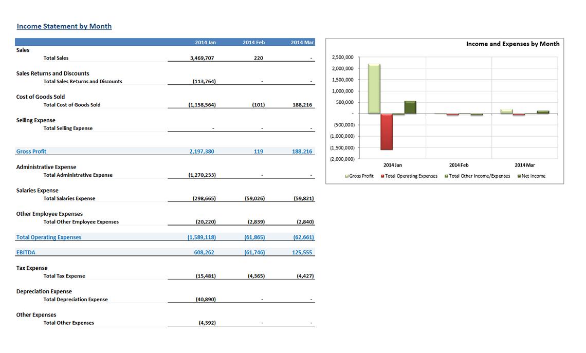 Gp004 Enterprise Monthly Income Statement V3.0