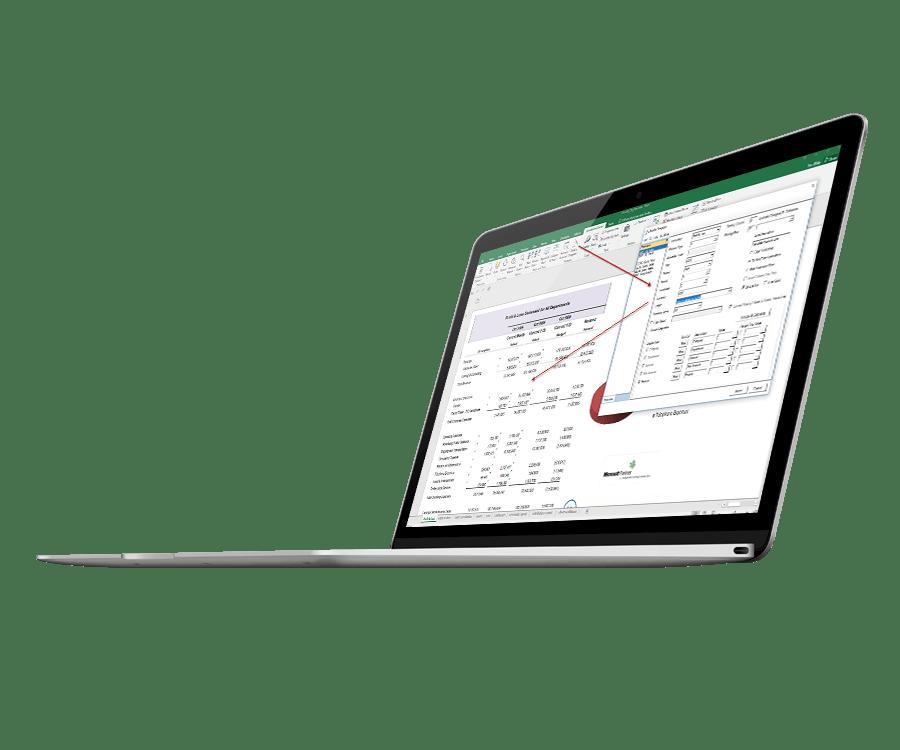 Spreadsheetserver – Reportcreation