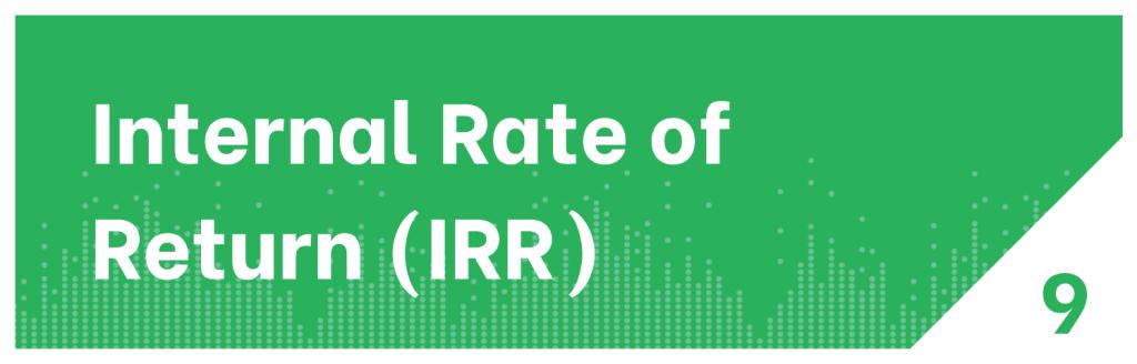 Internal Rate of Return KPI