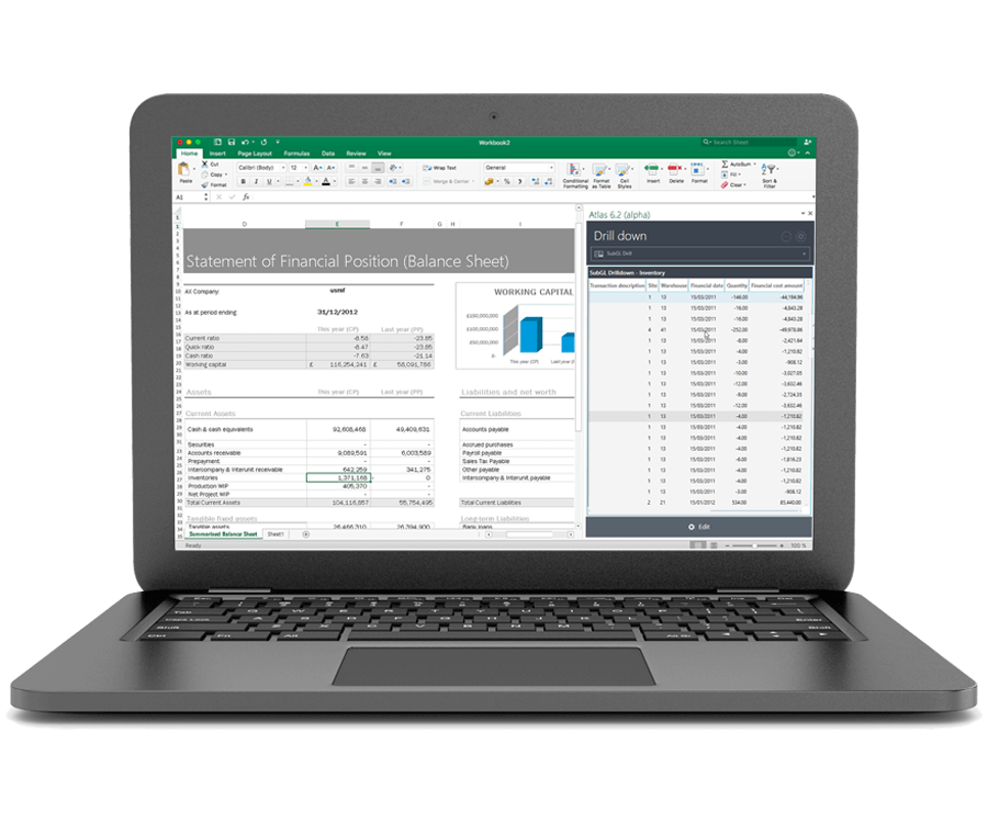 d365 finance reports and dashboard