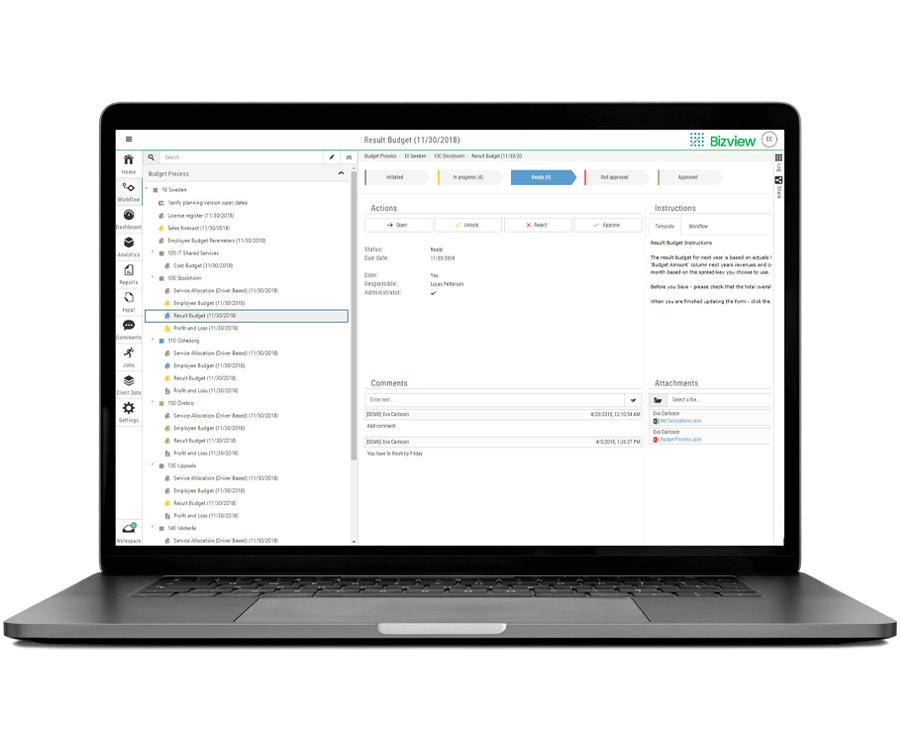 FP&A Collaboration Software