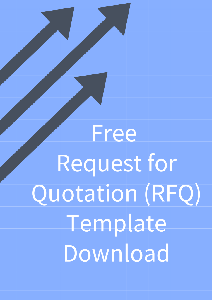 Download Free Request For Quotation Rfq Template For Contract