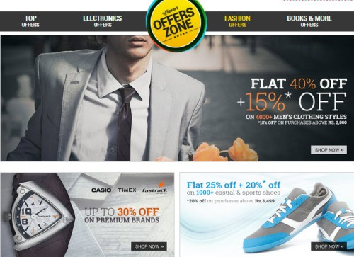 flipkart offers zone