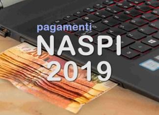 calendario pagamenti naspi 2019 - i pagamenti della naspi nel 2019