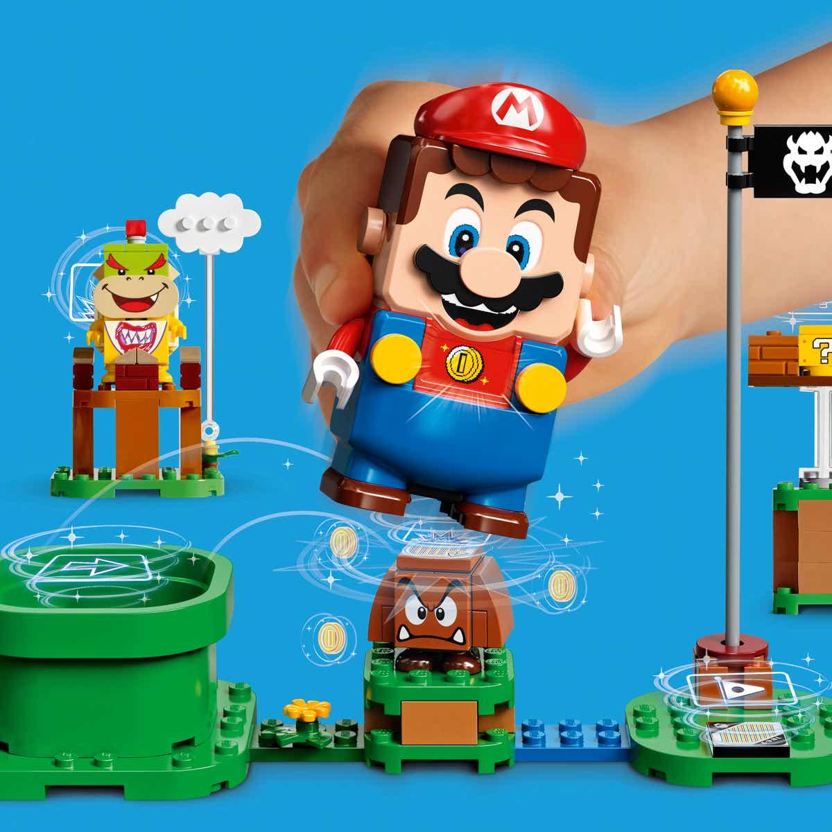 It's a-me, Mario! LEGO do Super Mario