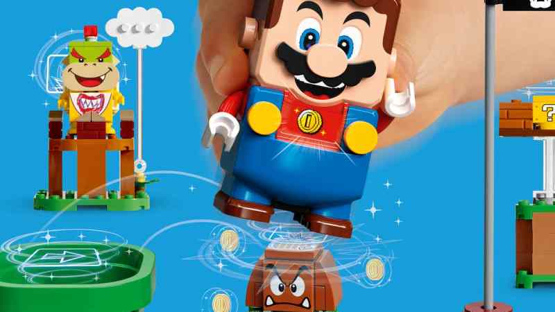 It's a-me, Mario! LEGO do Super Mario