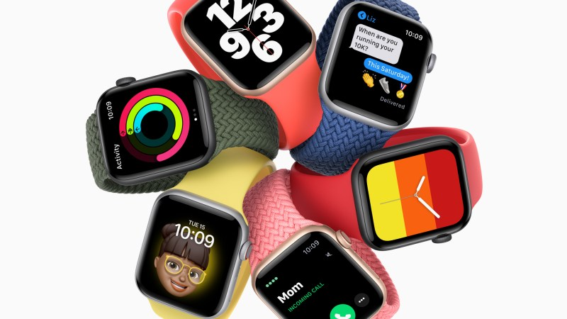 Os Apple Watch SE LTE passam na Anatel