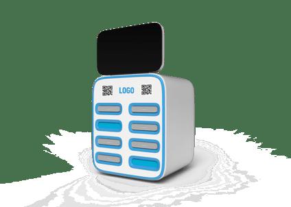 """Um carregador """"compartilhado"""" de powerbanks"""