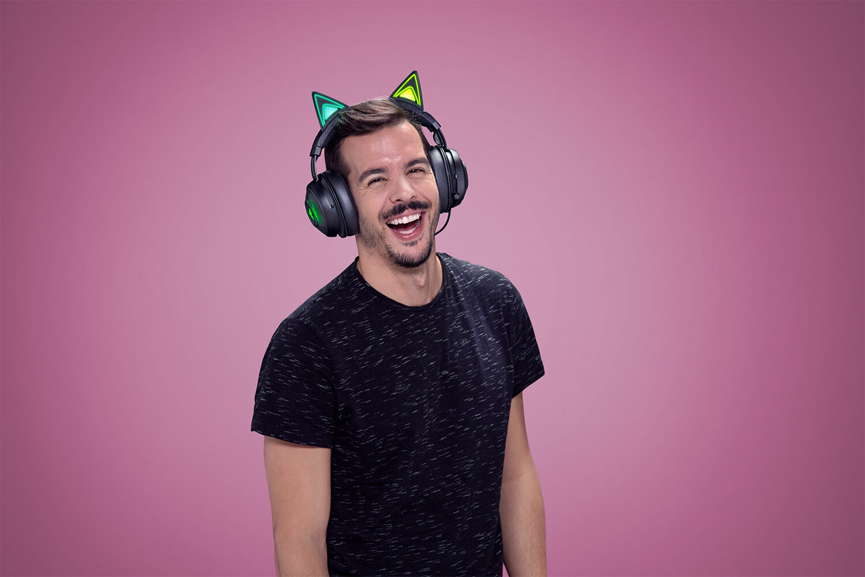 Razer Kraken Kitty Edition Bluetooth: fone de ouvido com orelhas de gato(!?)