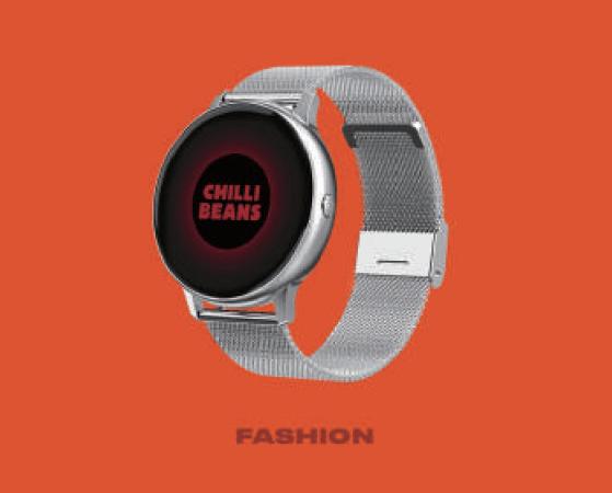 A Chilli Beans homologou um smartwatch…e uma smartband