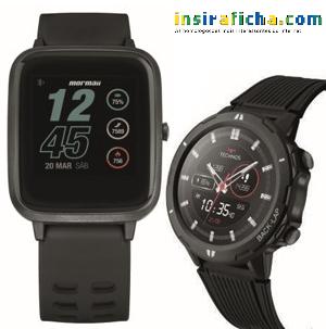 A Technos homologa dois smartwatches (um deles é da Mormaii)