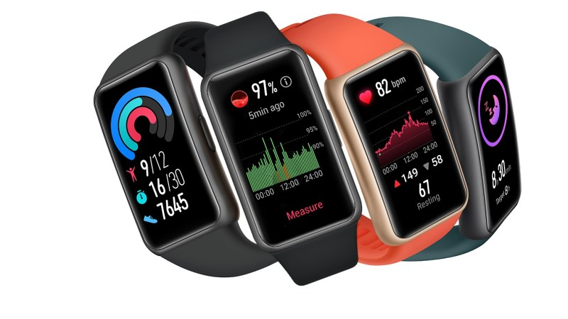 Huawei Watch Fit Elegant e Huawei Band 6 passam pela Anatel