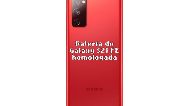 A bateria do Samsung Galaxy S21 FE é homologada