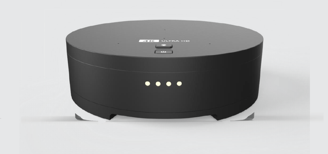 Vem aí o decoder 4K da Claro TV em formato de disco voador
