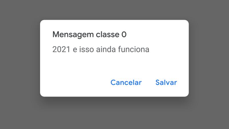 O insiraficha.com investiga os SMS classe 0