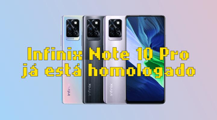 Infinix Note 10 Pro JÁ ESTÁ HOMOLOGADO pela Anatel