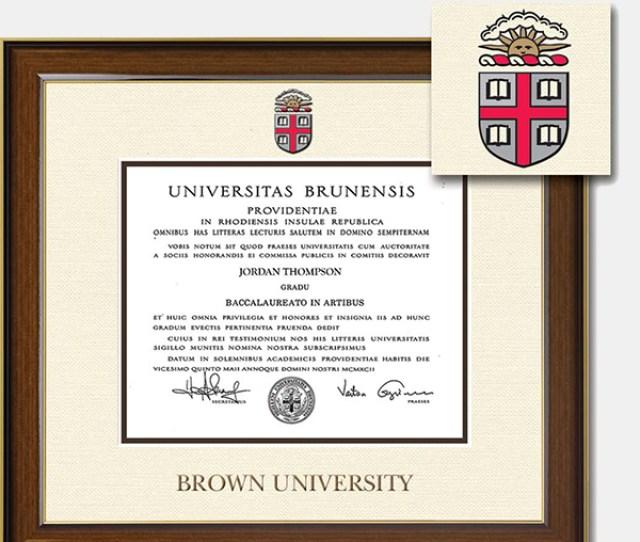 Church Hill Dimensions Diploma Frame Ba Ma Phd