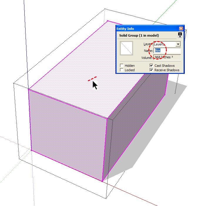 Insitebuilders - SketchUp Groups