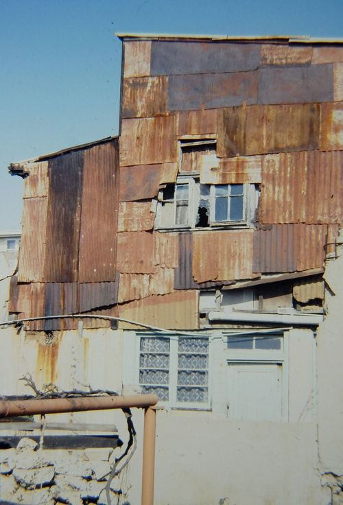 Informal Architecture as an Impoverished Vernacular