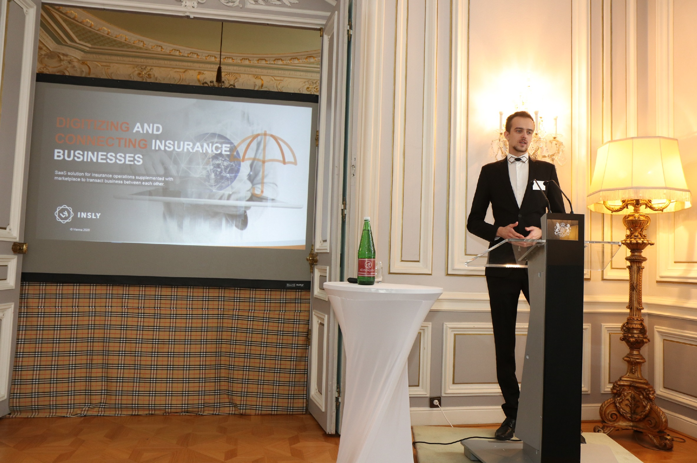 Insly @ UK Fintech mission to Austria