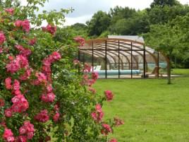 Le Clos de la Risle : piscine en pleine nature