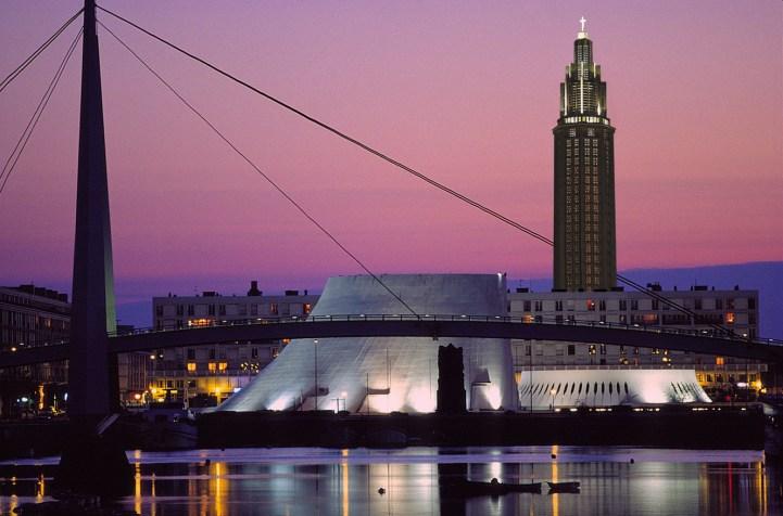 Le Clos de la Risle : Le Havre by night