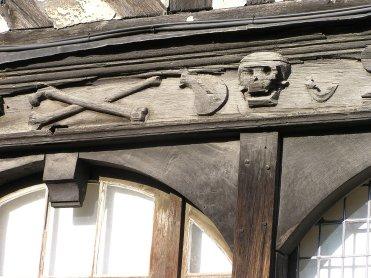 Le Clos de la Risle : Aître Saint Maclou à Rouen