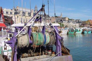 Trouville - Bateaux de pêche