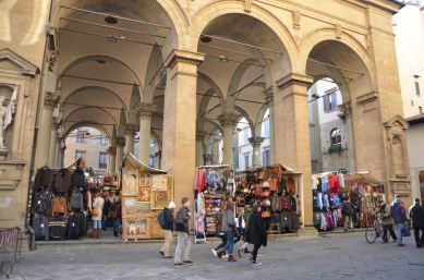 Marktplatz Florenz