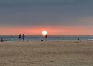 Tarifa sunset - the perfect end to the day