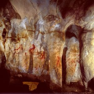 Cave Paintings in Ardales Caves Image credit: P. Saura.