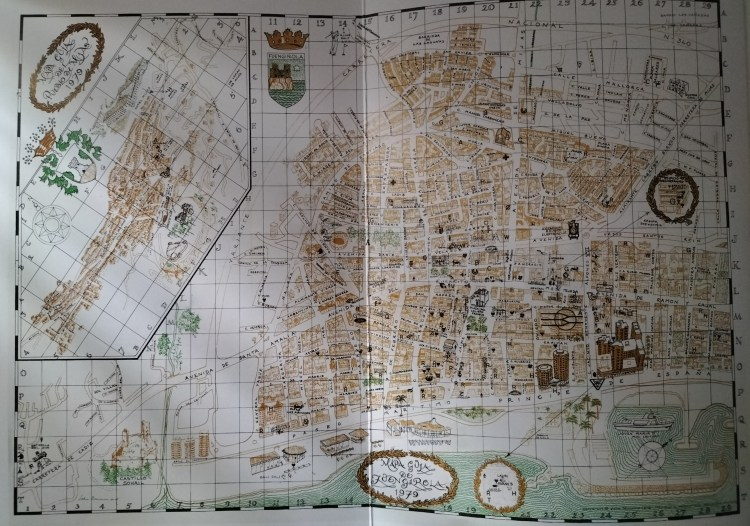 John Drummond 1979 map on the inside cover