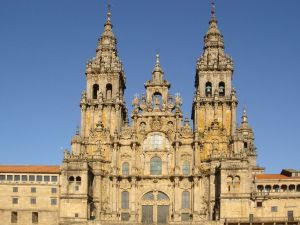 St James – Santiago - patron saint of Spain and Galicia