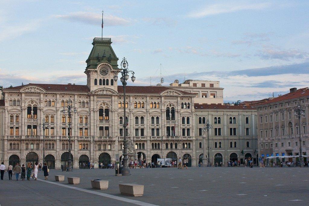 Triest city hall