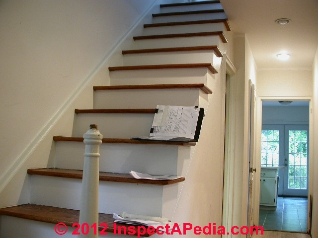 Handrails Guide To Stair Handrailing Codes Construction Inspection | Continuous Handrail Winder Stair | Recessed | 30 Inch | Basement | Gooseneck | 90 Degree
