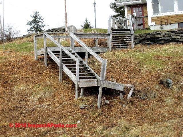 Exterior Stairways Guide To Outdoor Stair Railing Landing | Safety Handrails For Outdoor Steps | Railing Kits | Simplified Building | Wrought Iron | Wood | Metal