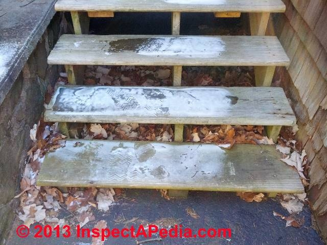 Slippery Stair Walk Surface Hazards The Coefficient Of Friction   Outdoor Stair Treads For Ice And Snow   Heated   Mat   Cool Inventions   Non Slip Mats   Heattrak