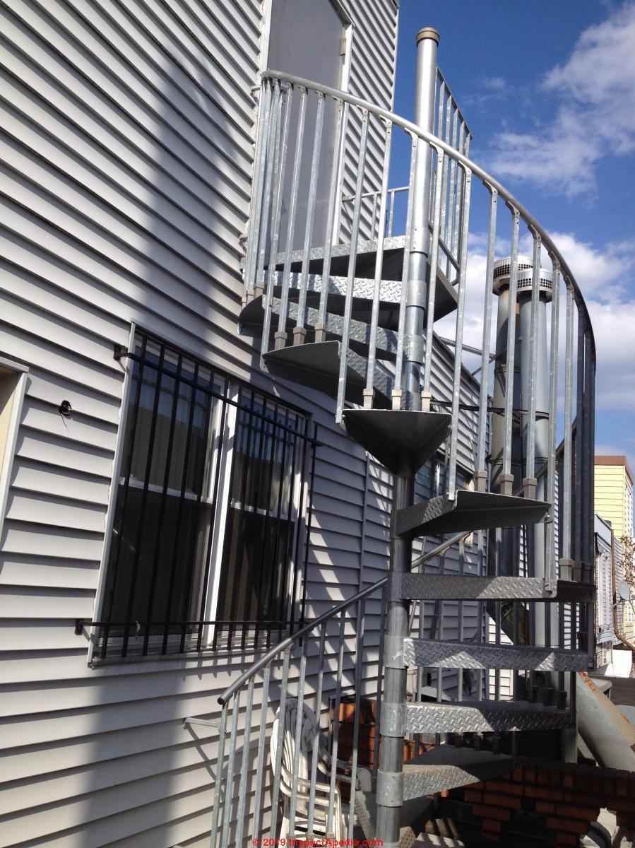 Exterior Stair Railing Landing Construction Codes Hazard Faqs   Building Outside Stairs To Second Floor   Handrail   Metal Staircase   Stair Treads   Stairs Leading   Spiral Stairs