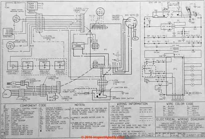 Rheem Wiring Diagrams Heat Pumps : Connecting thermostat on rheem heat pump system