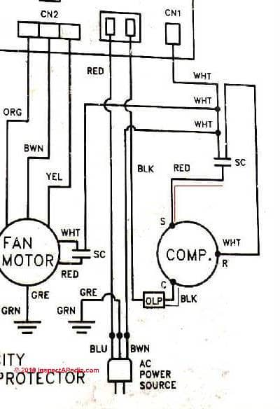 Single Phase Compressor Wiring Diagram - cancigs.com on