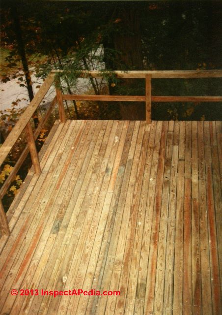 Stagger Deck Boards Pattern